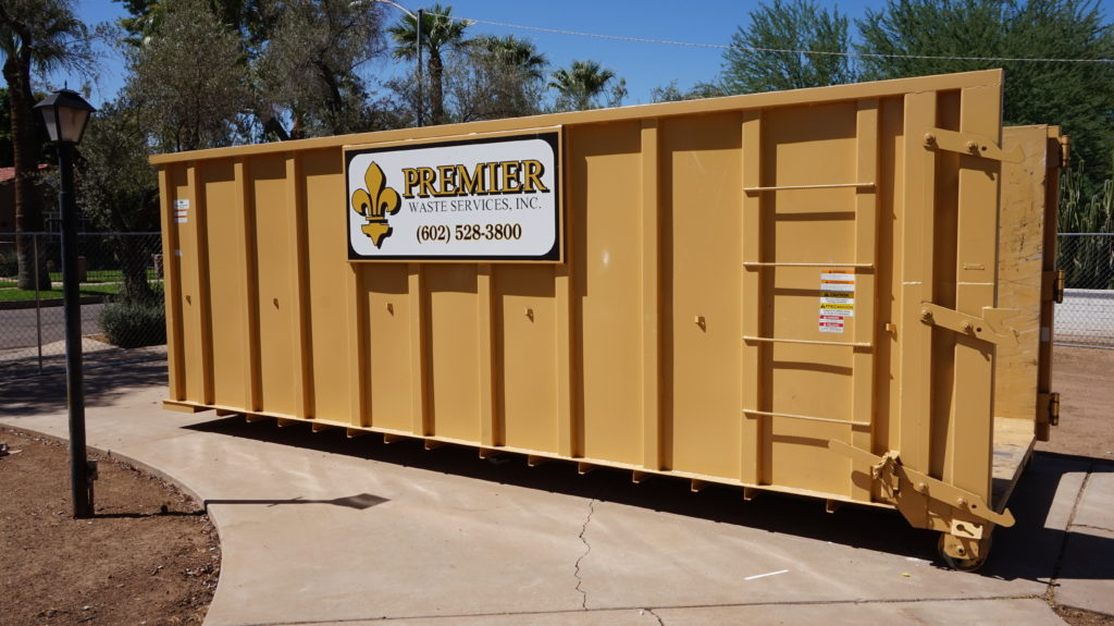 Rent a dumpster in Phoenix, Arizona